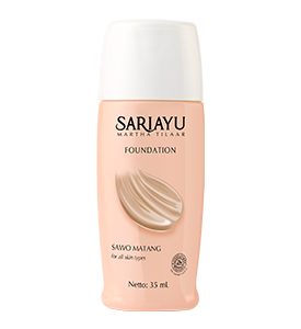 Liquid Foundation Sawo Matang  35 mL