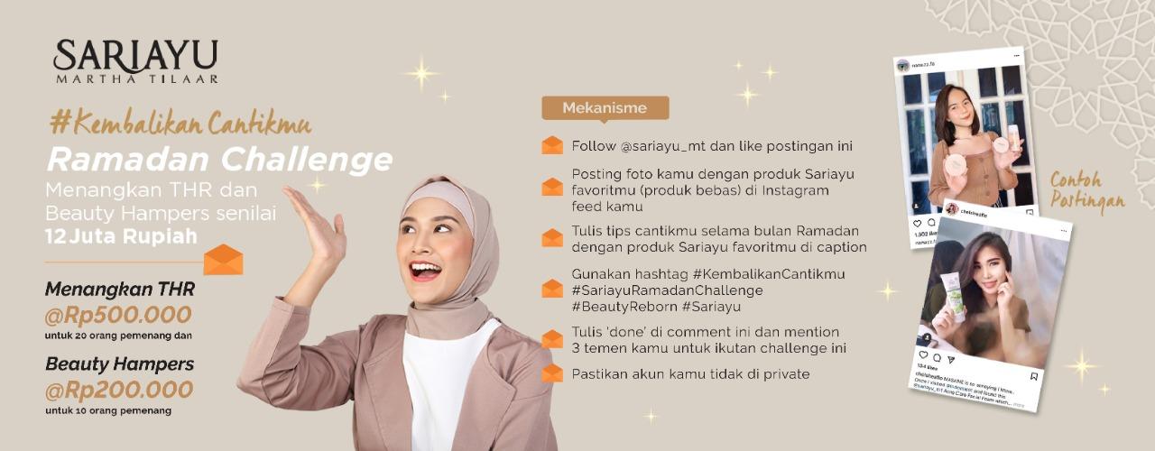 Sariayu #KembalikanCantikmu Challenge