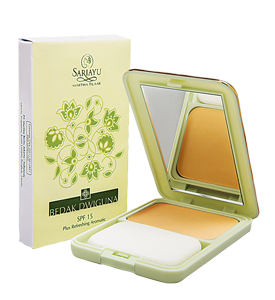 Bedak Dwiguna SPF 15 Kuning Pengantin 13 g