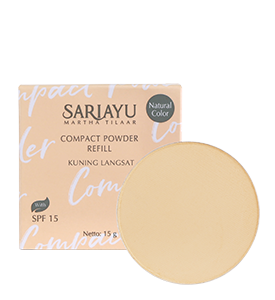Refill Compact Powder SPF 15 Kuning Langsat 15 g
