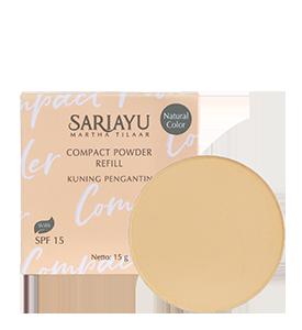Refill Compact Powder SPF 15 Kuning Pengantin 15 g